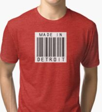 Made in Detroit Tri-blend T-Shirt