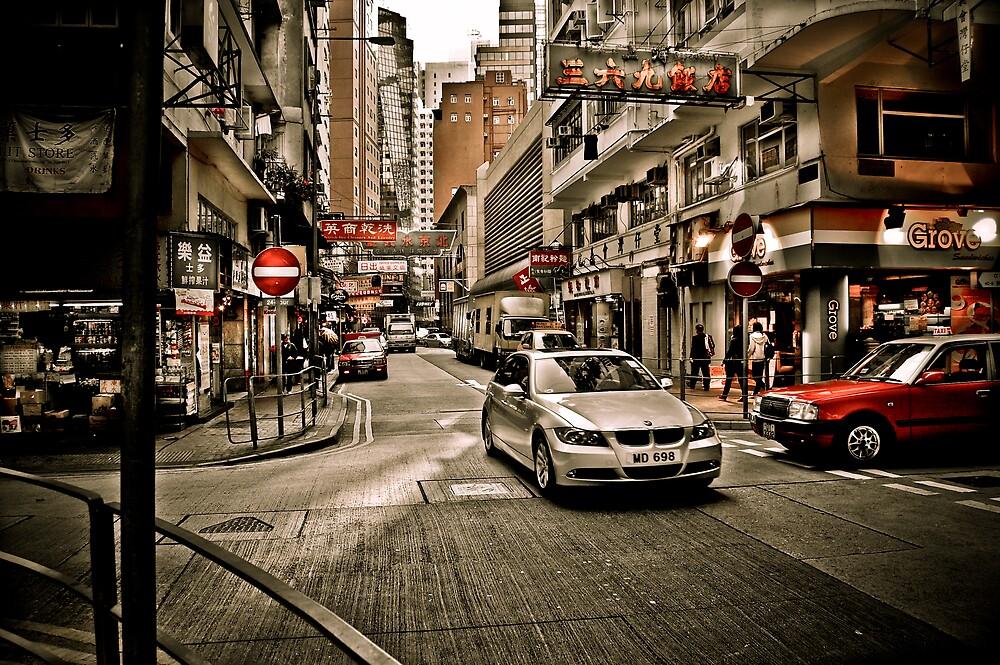 hong kong corner by marcwellman2000