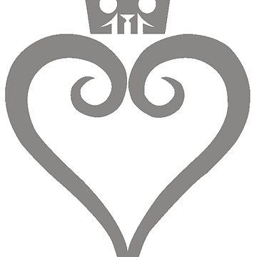 Kingdom Hearts III Logo by Twinsnakes0000