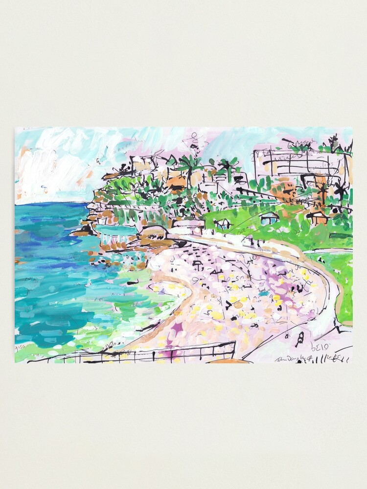 Alternate view of Bronte Beach Photographic Print