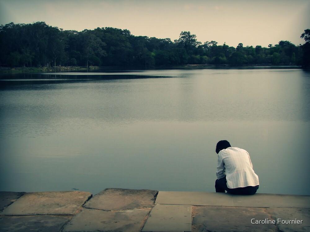 Contemplating by Caroline Fournier