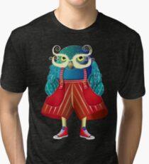 My Owl Red Pants Tri-blend T-Shirt