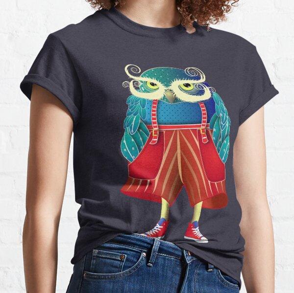 My Owl Red Pants Classic T-Shirt