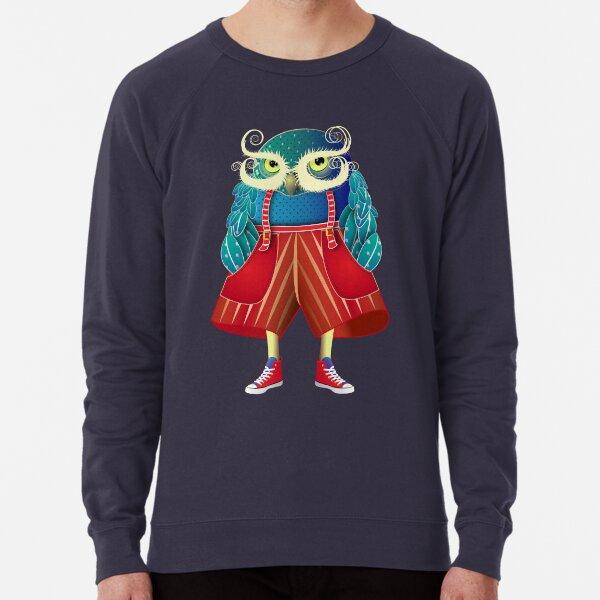 My Owl Red Pants Lightweight Sweatshirt
