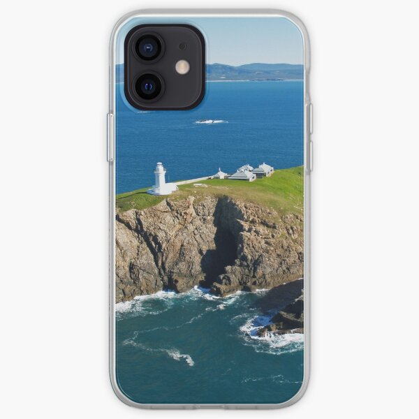 South Solitary Island Lighthouse iPhone Soft Case