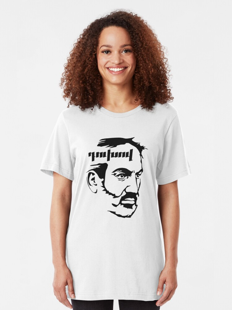 Alternate view of Nikol Pashinyan duxov. Armenian revolution Slim Fit T-Shirt