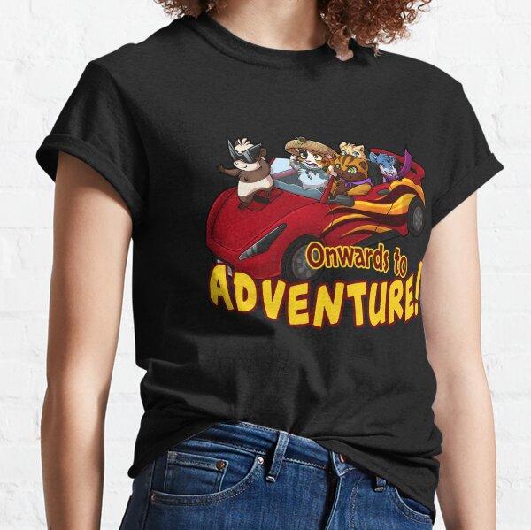 Ichtim - Weiter zum Abenteuer! (Rot) Classic T-Shirt