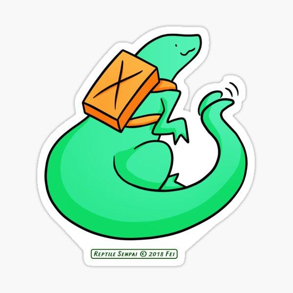 Reptile Senpai S05E01 Sticker