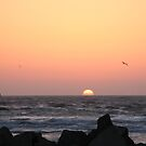Morro Bay Sunset by expatraveler