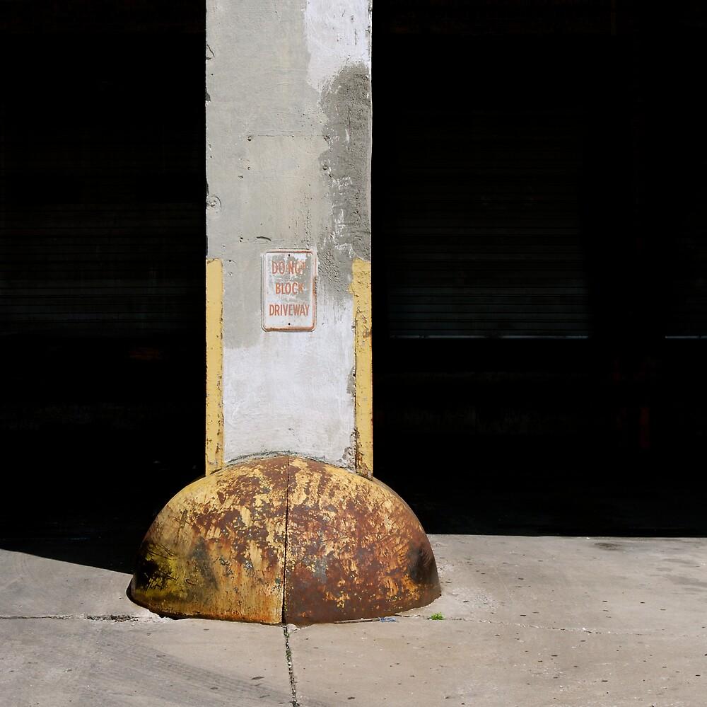 Do Not Block Driveway by Robert Baker