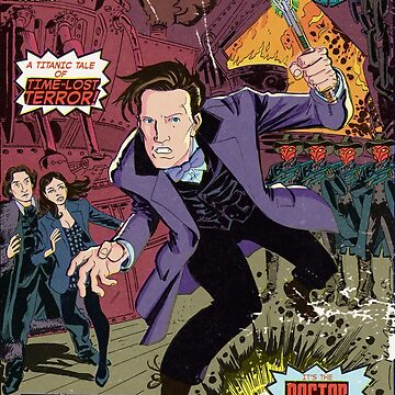 Doctor Who Comic Book Cover by CharlieKirchoff