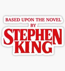 stephen king Sticker