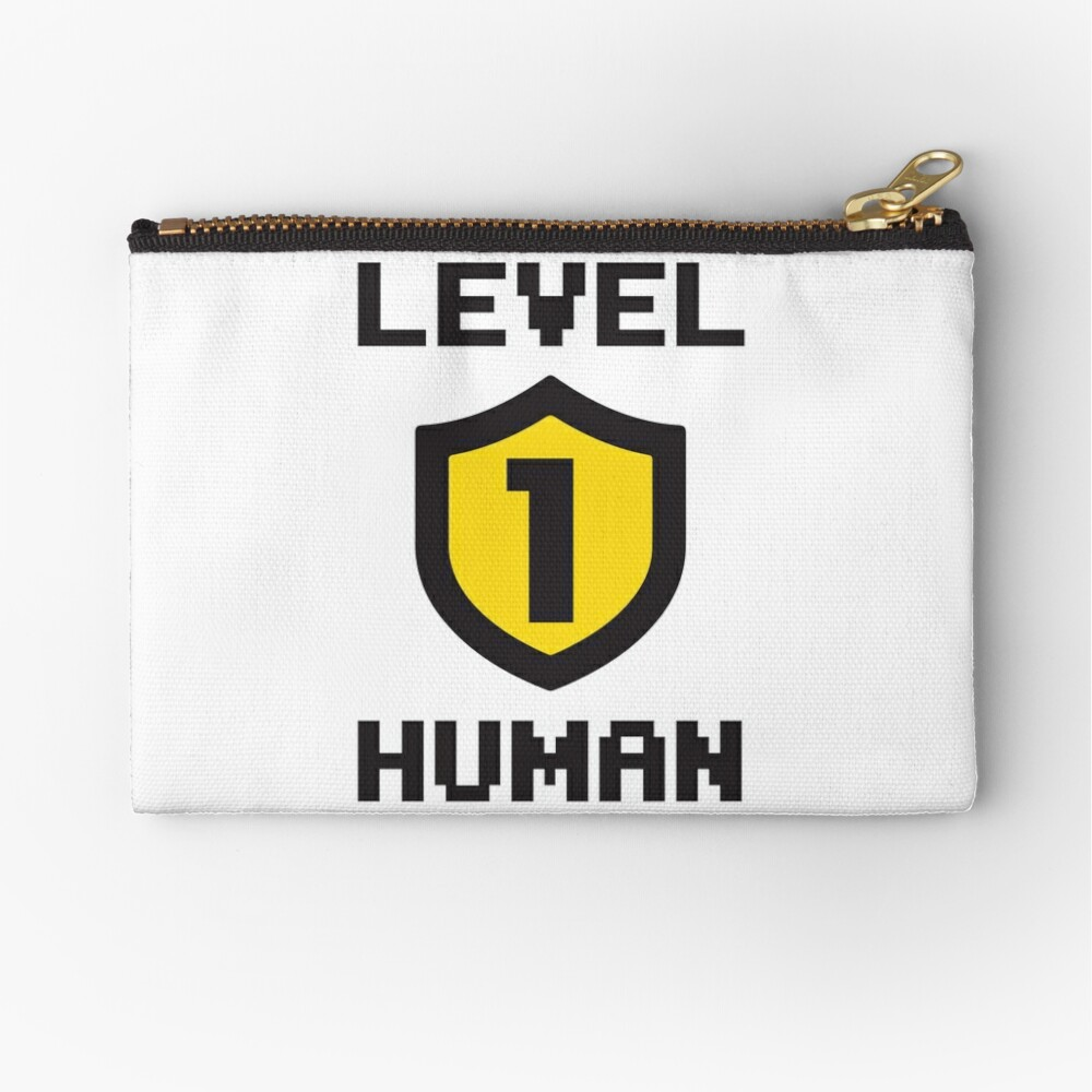 Level 1 Human Zipper Pouch