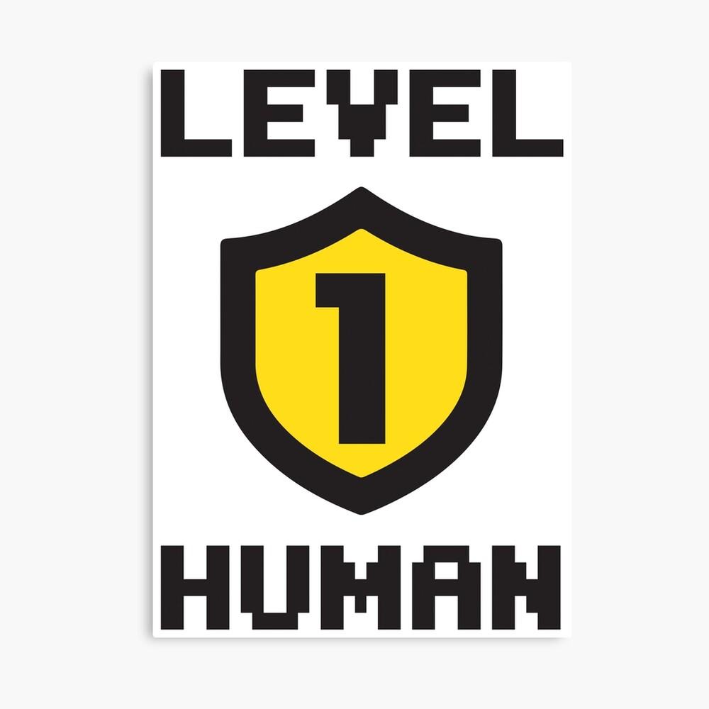 Nivel 1 humano Lienzo