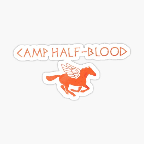 camp half blood original Sticker