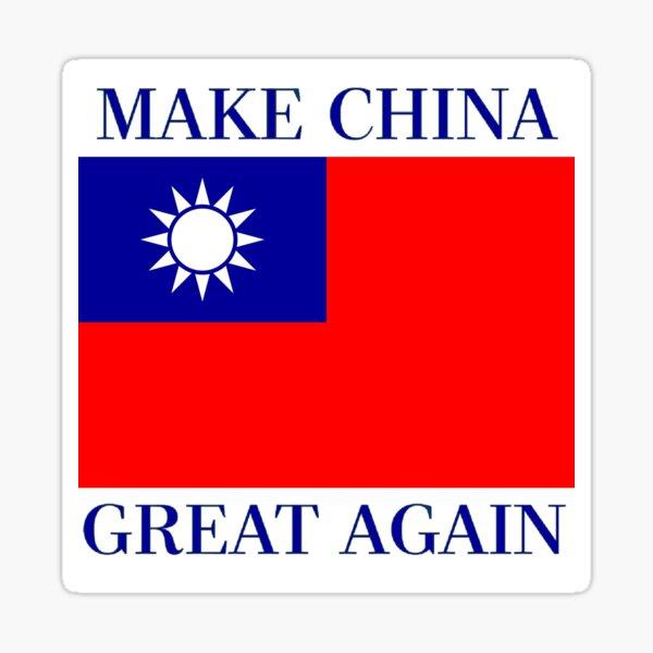 Make China Great Again - KMT Republic of China  Sticker