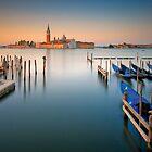 Magic venetian dawn by Delfino