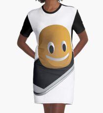 Handy mit Emoticon T-Shirt Kleid