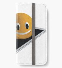 Handy mit Emoticon iPhone Flip-Case/Hülle/Klebefolie