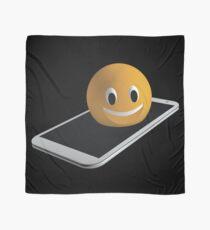 Handy mit Emoticon Tuch