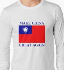 Make China Great Again - KMT Republic of China  Long Sleeve T-Shirt