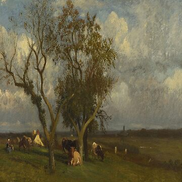 Landscape with Cows-Jules Dupre by LexBauer