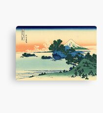 Shichiri beach in Sagami Province  | Japan Canvas Print