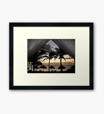 dawn dreaming  Framed Print