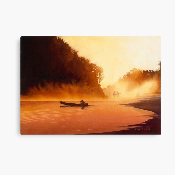 """""""Rendezvous"""" Watercolor Canvas Print"""