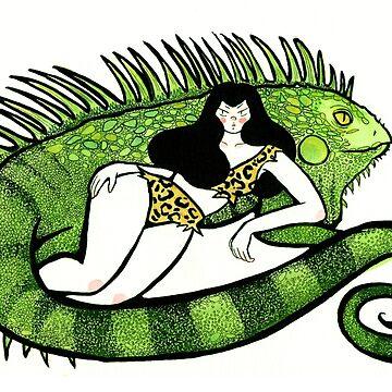 Iguana by Lillyanakirk