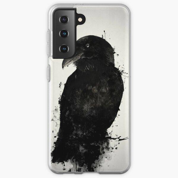Le corbeau Coque souple Samsung Galaxy