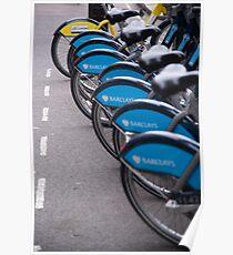 Boris Bikes Poster