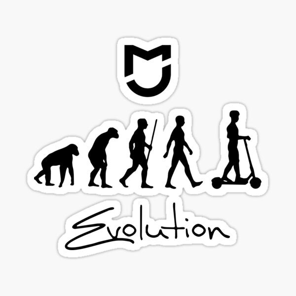 Mijia Evolution Pegatina