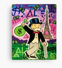Monop in Paris Leinwanddruck