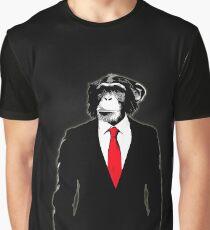 Domestizierter Affe Grafik T-Shirt