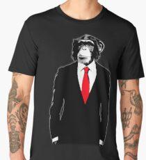 Domesticated Monkey Men's Premium T-Shirt