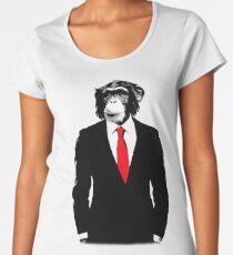 Domestizierter Affe Frauen Premium T-Shirts