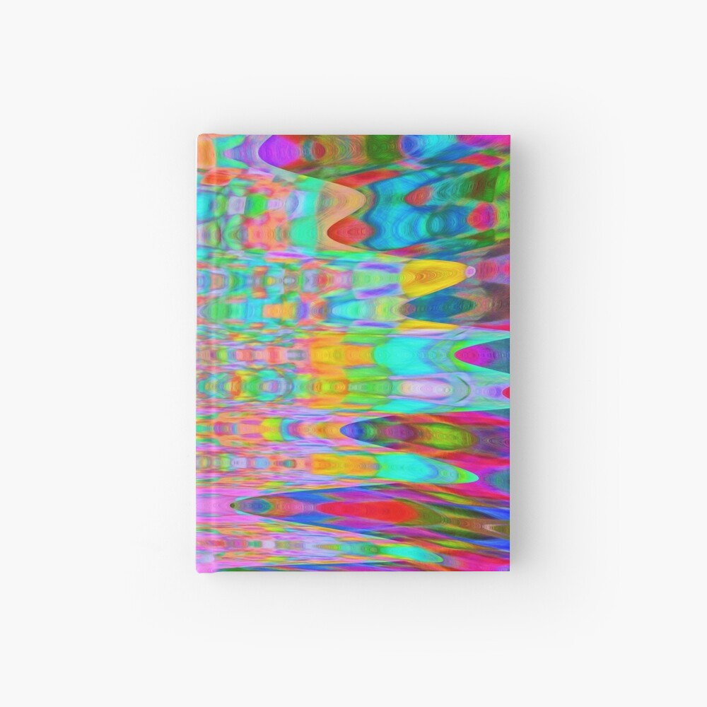 Abstract Reflections Hardcover Journal
