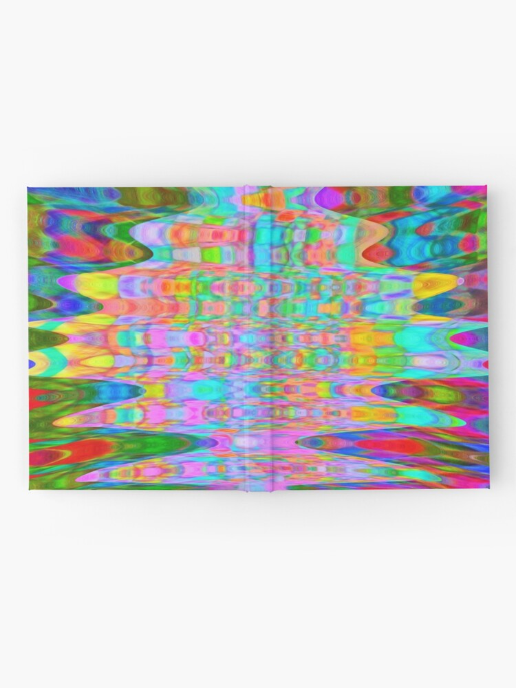 Alternate view of Abstract Reflections Hardcover Journal