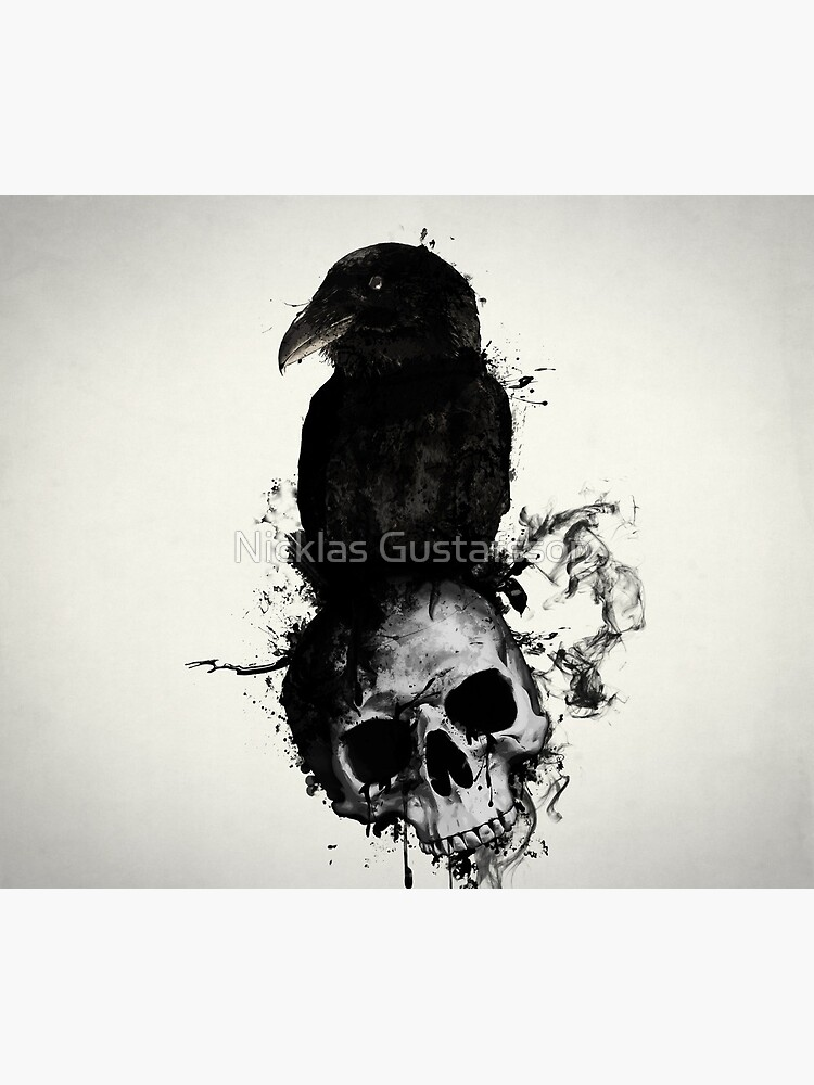 Raven and Skull by Nicklas81