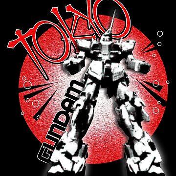 Gundam Tokyo by strat1963