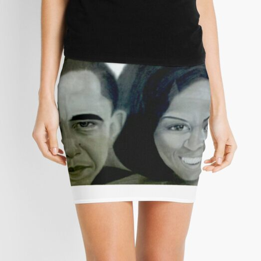 The Obamas Mini Skirt