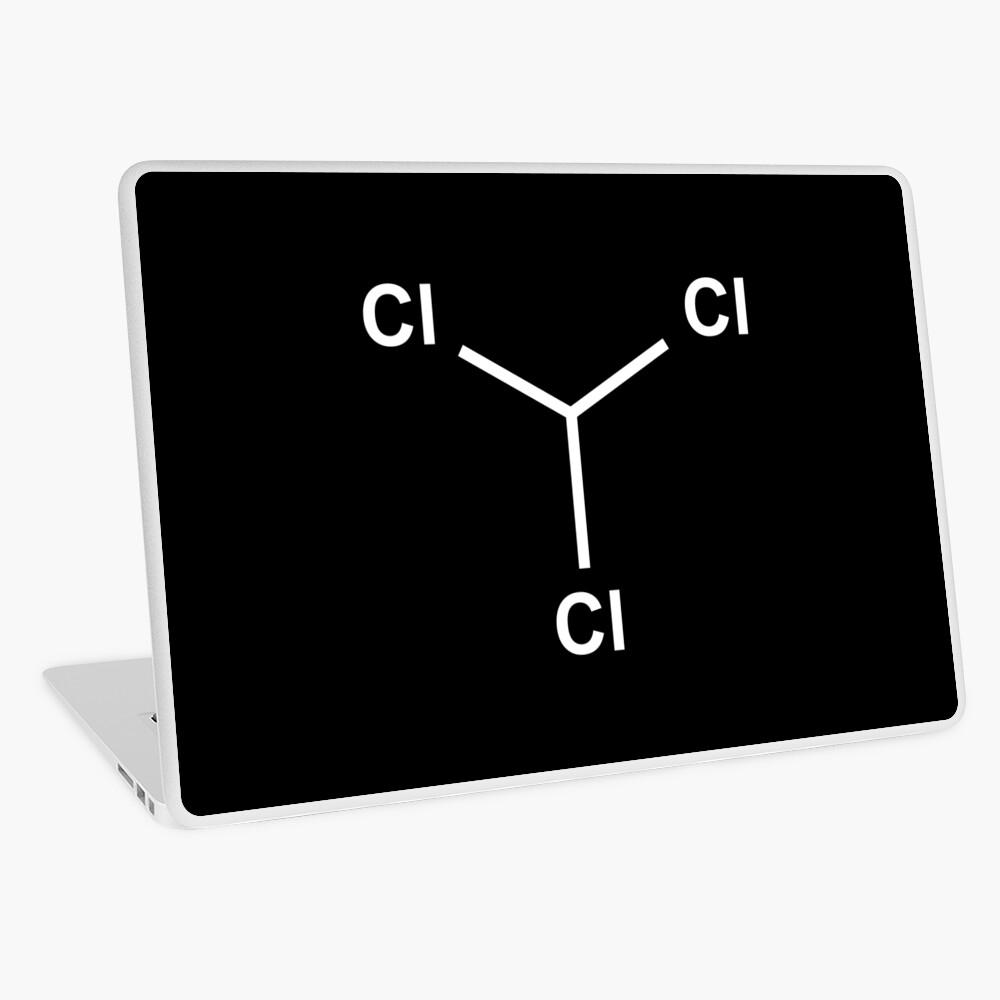 Chloroform Chemical Molecule Structure Laptop Skin