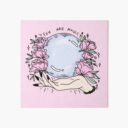 you are magic -pink- Art Board Print