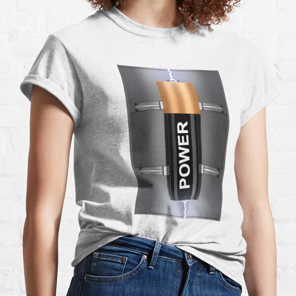 Electric battery Classic T-Shirt