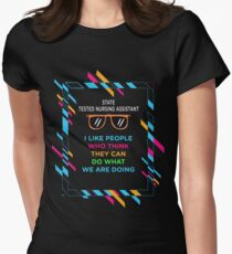 STATE TESTED NURSING ASSISTANT Women's Fitted T-Shirt