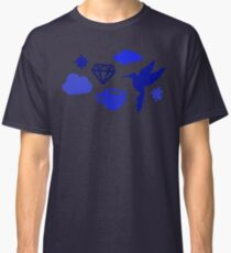 Morning Blues with Puzzles and Diamonds Classic T-Shirt