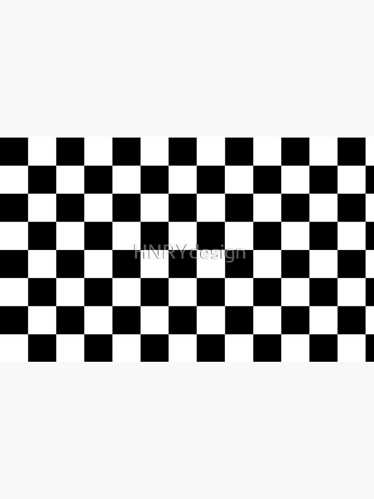 Classic chequered flag by HNRYdesign