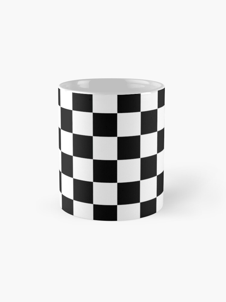 Alternate view of Classic chequered flag Mug