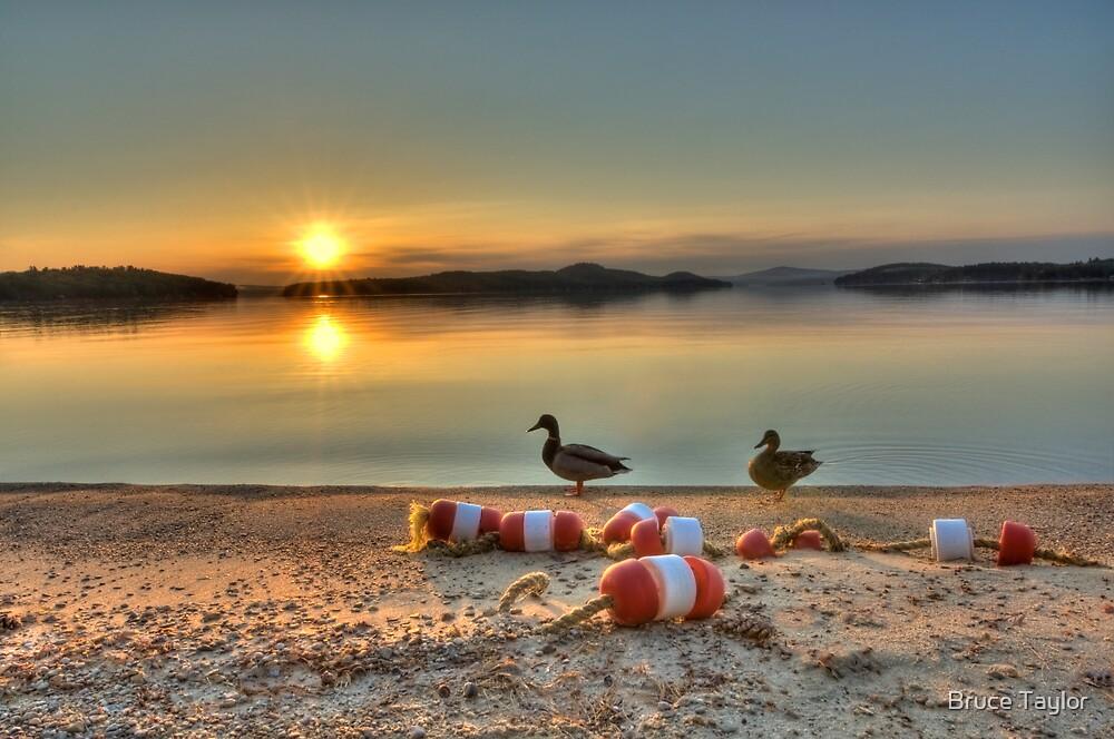 Rattlesnake Island sunrise by Bruce Taylor